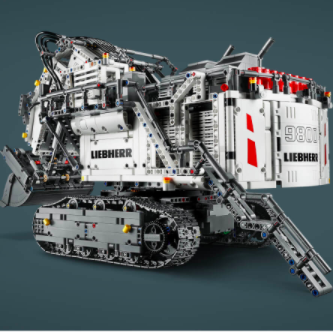 Zavvi: LEGO Technic Liebherr R 9800 Sale for Only $399.99