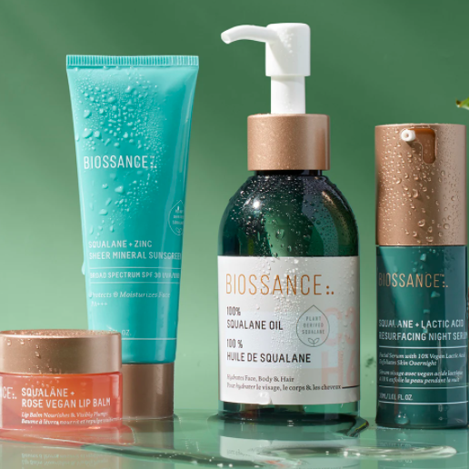Biossance: Free Shipping on Any Order plus Clear Complexion Trio on $50+