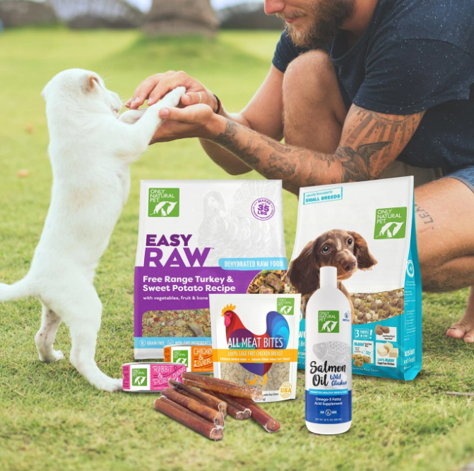 Only Natural Pet: 15% OFF 3 Treats or More
