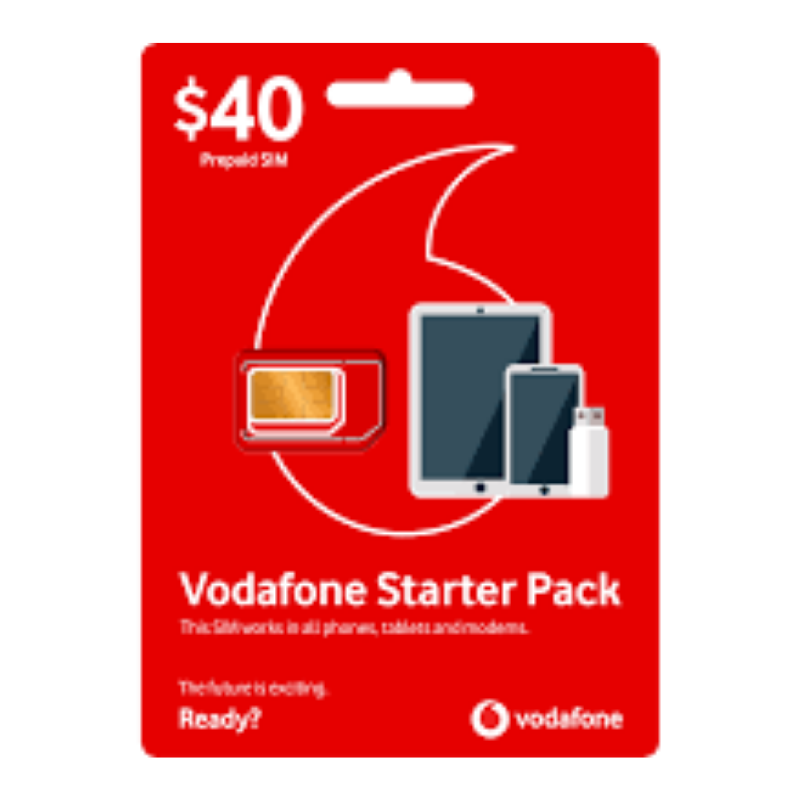 Vodafone: Get up to $40 My Credit!
