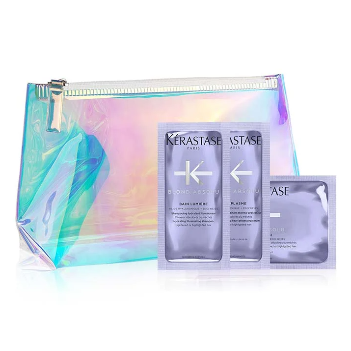 Kerastase: A Free Iridescent Travel Pouch & Free Shipping with Any Order