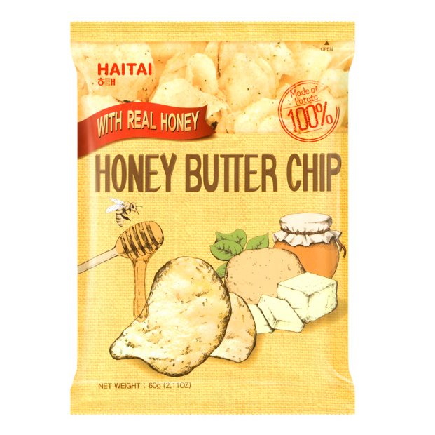 Yamibuy: HAITAI Honey Butter Chip 60g