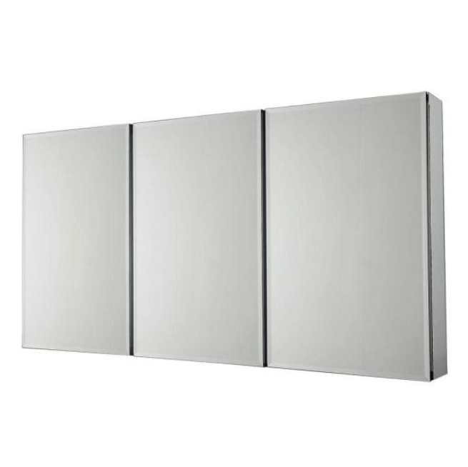 Home Depot: Pegasus Recessed or Surface-Mount Tri-View Bathroom Medicine Cabinet