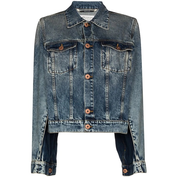 FARFETCH: 40% OFF Maison Margiela Spliced Denim Jacket
