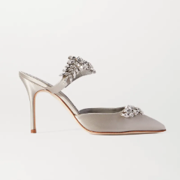 NET-A-PORTER US: Manolo Blahnik - The Iconic Shoe Collection is Finally Here