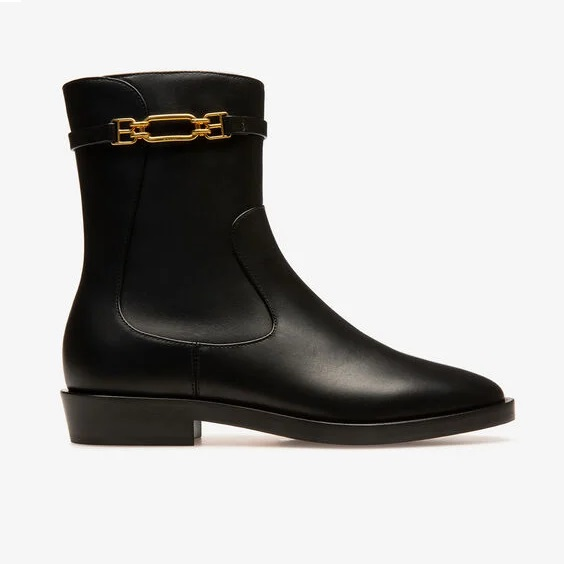 BALLY UK: Dema Leather Boots In Black