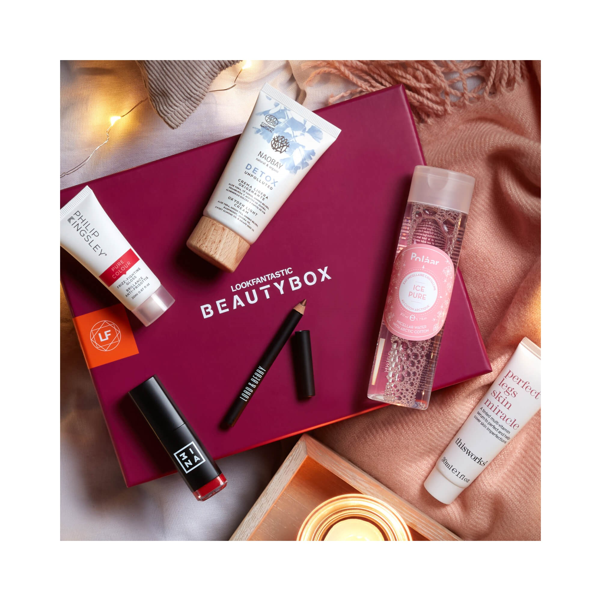 Lookfantastic.com: November Beauty Box for $16 (Worth $74)