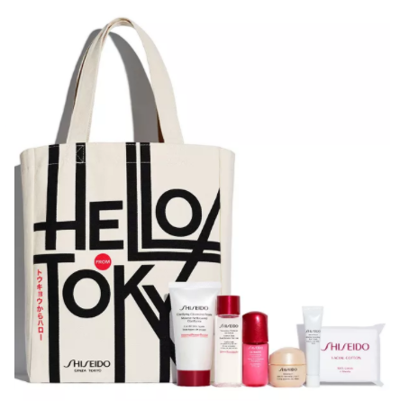 Macy's: Choose Your Free 7pc Gift with Any $75 Shiseido Purchase (Up to A $114 Value)