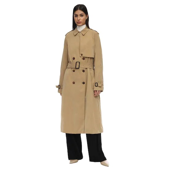LUISAVIAROMA: 20% OFF + Extra 30% OFF THE ROW TRIANA Waterproof Canvas Trench Coat