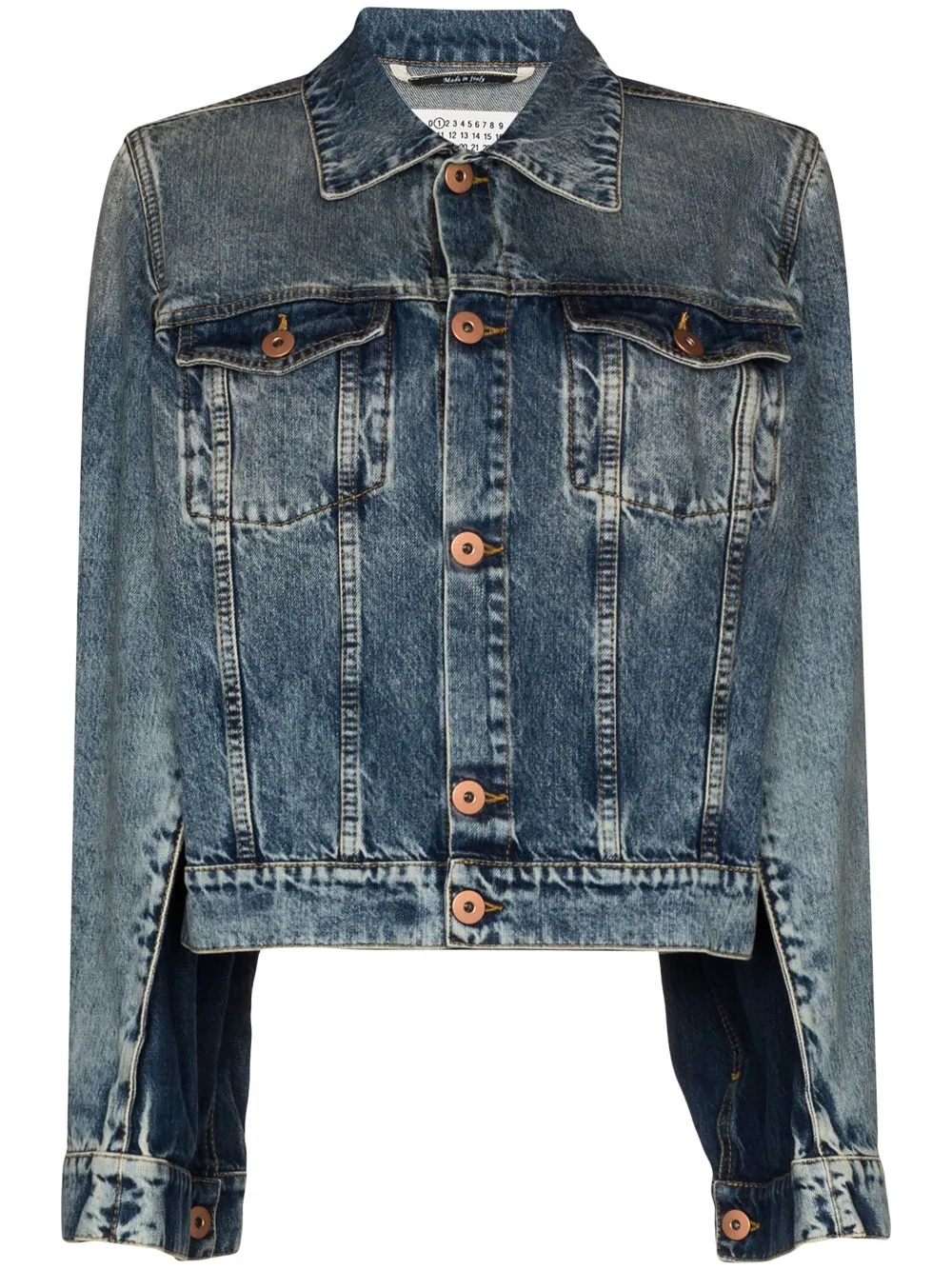 FARFETCH: 60% OFF Maison Margiela spliced denim jacket
