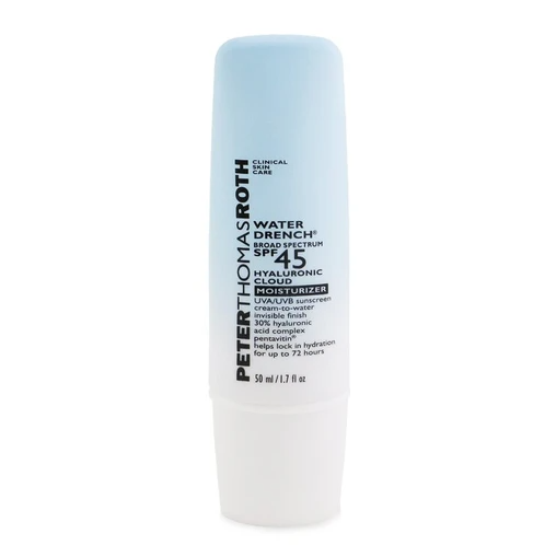 Peter Thomas Roth Labs: New Launch - Water Drench Broad Spectrum SPF 45 Hyaluronic Cloud Moisturizer