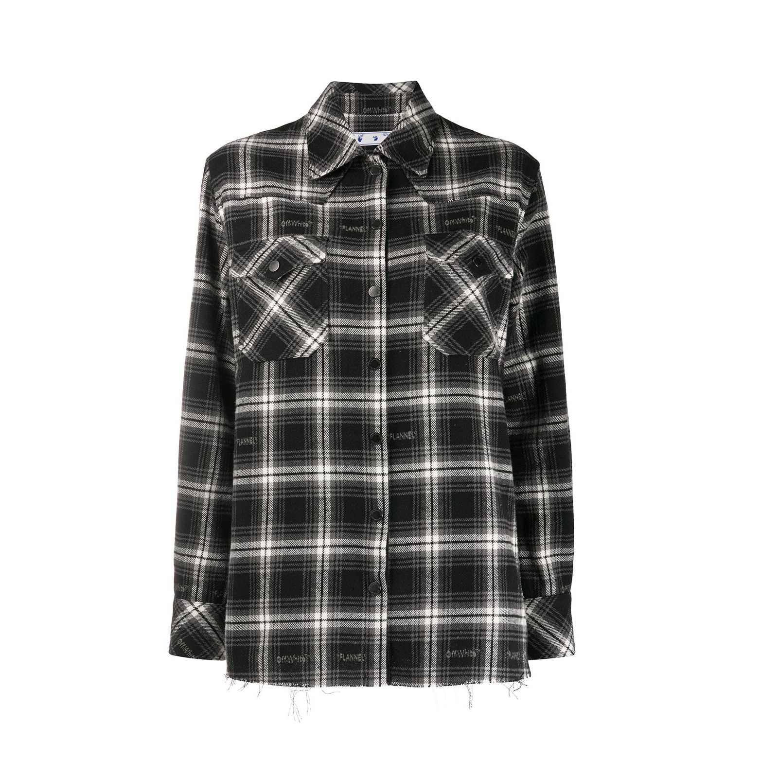 FARFETCH: 35% OFF New Season Off-White Checked Boxy Shirt
