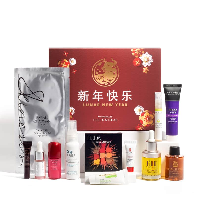 FeelUnique US: Lunar New Year Box only for £50 (Worth £172.47)
