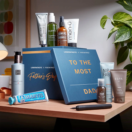 Lookfantastic UK: The LOOKFANTASTIC x MANKIND Father's Day Box (Worth over £132) For £45